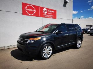 Used 2015 Ford Explorer LIMITED/AWD/SONY AUDIO/REAR VIEW CAM/ADJUSTABLE PEDALS for sale in Edmonton, AB