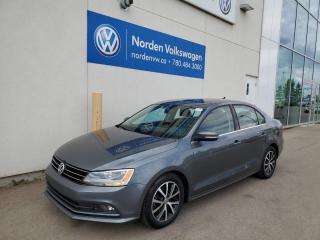 Used 2015 Volkswagen Jetta Sedan COMFORTLINE 1.8T - SUNROOOF / HTD SEATS / ALLOYS for sale in Edmonton, AB