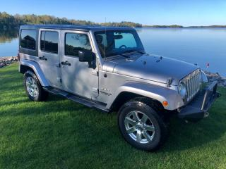 Used 2016 Jeep Wrangler Sahara Only $171 weekly for sale in Perth, ON