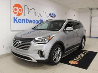Used 2017 Hyundai Santa Fe XL XL | Limited | AWD | Third Row | NAV | Heated Seats | Sunroof for sale in Edmonton, AB