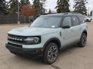 New 2021 Ford Bronco Sport Outerbanks | 4x4 | Ebony/Brown Interior | Heated Seats for sale in Edmonton, AB