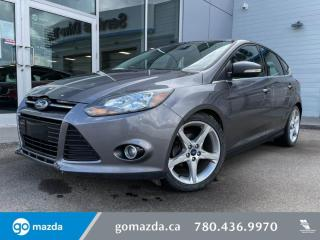 Used 2012 Ford Focus TITANIUM - LEATHER, PUSH BUTTON, SUNROOF, AND MORE! for sale in Edmonton, AB