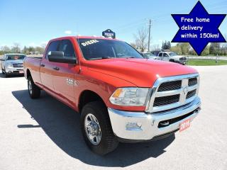 Used 2016 RAM 2500 SLT Diesel 4X4 6 speed standard Only 131000 km's for sale in Gorrie, ON