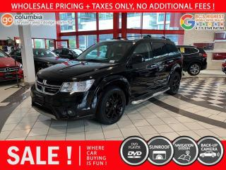 Used 2015 Dodge Journey R/T AWD - DvD / Leather / 7 Passenger / Nav for sale in Richmond, BC