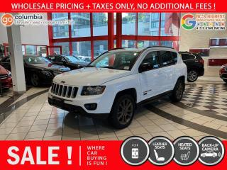 Used 2017 Jeep Compass 75th Anniversary - Local / Sunroof / Leather / No Dealer Fees for sale in Richmond, BC