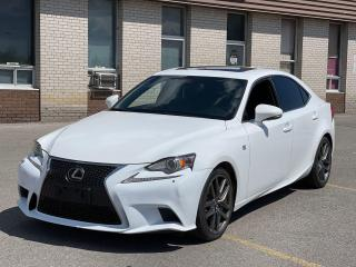 Used 2015 Lexus IS 250 F-SPORT AWD NAVIGATION/REAR VIEW CAMERA for sale in North York, ON