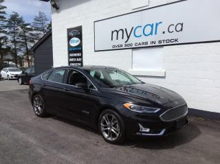 Used 2019 Ford Fusion Hybrid Titanium LEATHER, SUNROOF, NAV, HEATED SEATS, WOW!! for sale in Kingston, ON
