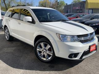 Used 2012 Dodge Journey SXT/7 PASSENGERS/LOADED/ALLOYS for sale in Scarborough, ON