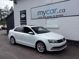 Used 2016 Volkswagen Jetta 1.4 TSI Comfortline SUNROOF, HEATED SEATS, ALLOYS, BACKUP CAM!! for sale in Kingston, ON