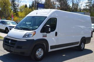 Used 2018 RAM ProMaster Promaster 3500 High Roof Extended 159 for sale in Richmond Hill, ON