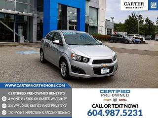 Used 2014 Chevrolet Sonic LS Auto for sale in North Vancouver, BC