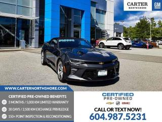 Used 2017 Chevrolet Camaro 1SS PWR Convertible Top - PWR Front Seats for sale in North Vancouver, BC