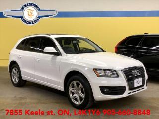 Used 2012 Audi Q5 2.0L Premium, Pano Roof, 2 Years Warranty for sale in Vaughan, ON