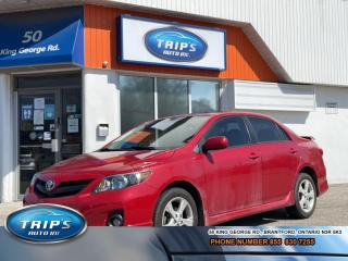 Used 2012 Toyota Corolla S/MOONROOF/LOADED/LOW, LOW KMS! for sale in Brantford, ON