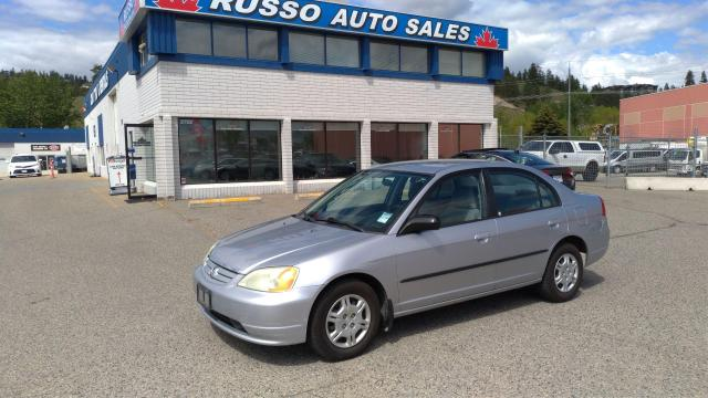 2002 Honda Civic DX - 5 speed Manual