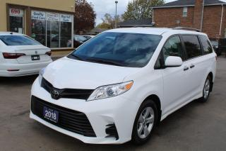 Used 2018 Toyota Sienna L for sale in Brampton, ON