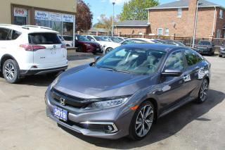 Used 2019 Honda Civic Touring for sale in Brampton, ON