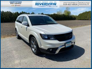 Used 2018 Dodge Journey Crossroad DVD Player | Heated Seats | Heated Steering Wheel for sale in Wallaceburg, ON