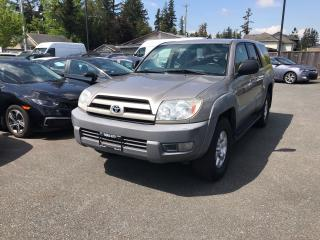 Used 2003 Toyota 4Runner SR5 for sale in Abbotsford, BC