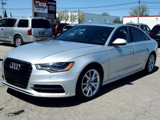 Used 2012 Audi A6 4dr Sdn quattro 3.0T Premium Plus for sale in Kitchener, ON