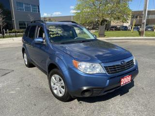 Used 2009 Subaru Forester AWD, Manual, 3 Years Warranty Available for sale in Toronto, ON
