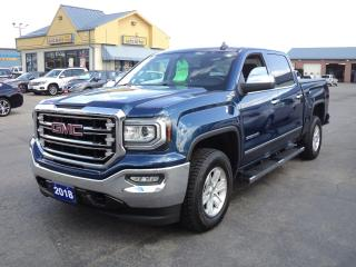Used 2018 GMC Sierra 1500 SLT CrewCab 4x4 5.3L 5.5ftBoxNavLeatherHeated for sale in Brantford, ON