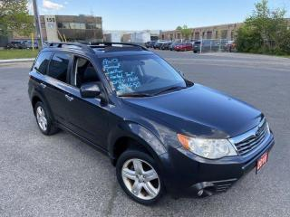 Used 2010 Subaru Forester Only 120000 KM, AWD, Leather, Sunroof, Auto for sale in Toronto, ON