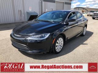 Used 2015 Chrysler 200 LX 4D Sedan 2.4L for sale in Calgary, AB