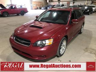 Used 2005 Subaru Legacy GT 4D Wagon AWD for sale in Calgary, AB