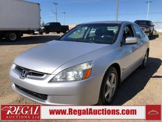 Used 2005 Honda Accord 4D Sedan for sale in Calgary, AB