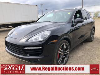 Used 2012 Porsche CAYENNE TURBO 4D UTILITY AWD 4.8L for sale in Calgary, AB
