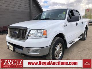 Used 2005 Ford F-150 LARIAT SUPERCREW for sale in Calgary, AB