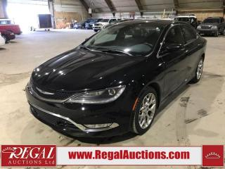 Used 2015 Chrysler 200 C 4D SEDAN AWD for sale in Calgary, AB