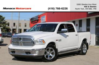 Used 2014 RAM 1500 LARAMIE ECODIESEL - LEATHER|SUNROOF|NAVI|BACKUP for sale in North York, ON