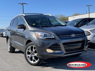 Used 2016 Ford Escape Titanium HEATED SEATS, REVERSE CAMERA for sale in Midland, ON