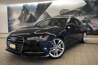 Used 2017 Audi A6 3.0T Technik + Bose | Pano Roof | Nav for sale in Whitby, ON