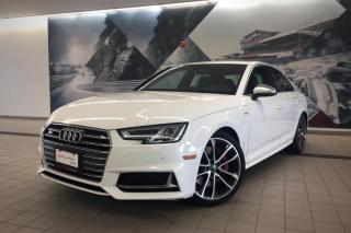 Used 2018 Audi S4 3.0T Technik + Virt Cockpit | B & O | Side Assisti for sale in Whitby, ON