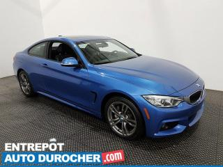 Used 2017 BMW 4 Series 430i xDrive- Navigation-Toit Ouvrant - Climatiseur for sale in Laval, QC
