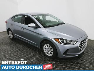 Used 2017 Hyundai Elantra L - Économique - for sale in Laval, QC