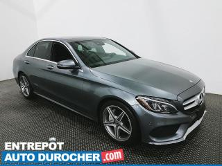 Used 2017 Mercedes-Benz C-Class C300 - Navigation - Toit Ouvrant - Climatiseur for sale in Laval, QC