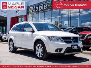 Used 2016 Dodge Journey SXT Navi Remote Start Backup Camera Bluetooth for sale in Maple, ON