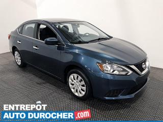 Used 2017 Nissan Sentra S - Bluetooth - Régulateur de Vitesse for sale in Laval, QC