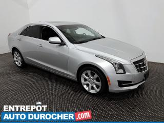 Used 2015 Cadillac ATS Sedan Standard AWD - Bluetooth - Climatiseur - Cuir for sale in Laval, QC