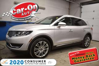 Used 2017 Lincoln MKX Reserve ONly 51,000km. SHOWROOM CONDITION | DRIVER ASSISTA for sale in Ottawa, ON
