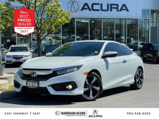 Used 2016 Honda Civic TOURING COUPE for sale in Markham, ON