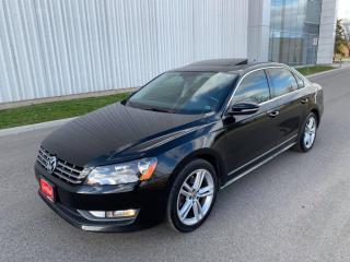 Used 2012 Volkswagen Passat 4DR SDN 3.6L DSG HIGHLINE for sale in Mississauga, ON