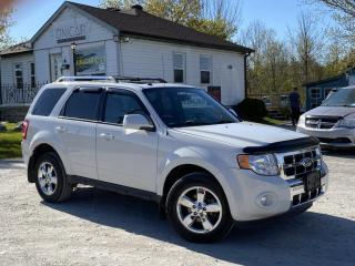 Used 2012 Ford Escape No-Accidents  4WD Limited V6 Leather Sunroof Bluetooth for sale in Sutton, ON