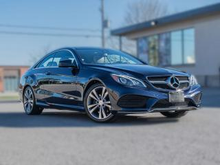 Used 2014 Mercedes-Benz E-Class E350 Coupe| 4MATIC | NAV |360 CAM |PANOROOF |B.SPOT for sale in North York, ON