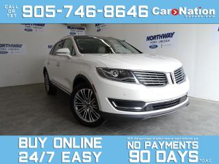 Used 2017 Lincoln MKX RESERVE | AWD | TECH PKG | LEATHER | ROOF | NAV for sale in Brantford, ON