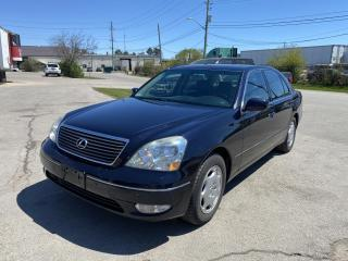 Used 2003 Lexus LS 430 Sedan for sale in Oakville, ON